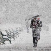 Наступного тижня синоптики обіцяють до 8 сантиметрів снігу та ожеледицю