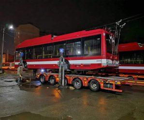 До Івано-Франківська прибули десять нових тролейбусів (фото)