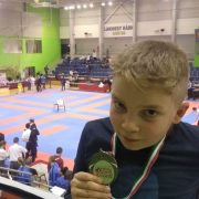 10-річний калушанин виборов срібло міжнародного турніру з карате. ФОТО
