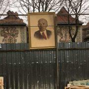 """В Івано-Франківську """"декомунізували"""" портрет Леніна"""