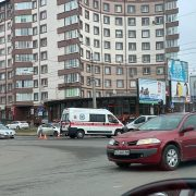 ДТП у Франківську: зіткнулися карета швидкої та два мікроавтобуси. ФОТО