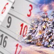 Уряд ухвалив графік робочих та вихідних днів на Різдвяні канікули