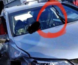 """Блогер помітив """"цікаву"""" деталь у автомобілі Toyota Миколи Кулеби, який на перехресті в смт Чабани зіштовхнувся з мікроавтобусом Volkswagen"""