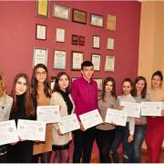 Кращі студенти Прикарпатського університету отримали стипендії в розмірі 500 $