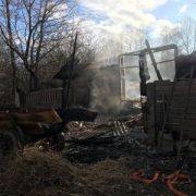 На Калущині у пожежі згоріли два десятки тварин