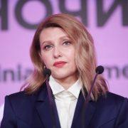 """У синьому """"чоловічому"""" костюмі"""": Перша леді України знову підкорила всіх своїм неперевершеним стилем. Їй дуже личить!"""
