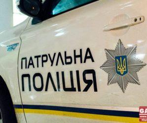 Вночі у Франківську водій втікав від патрульних – розбив три службові машини, двоє поліціянтів отримали травми