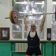 Франківський ветеран встановив п'ять національних рекордів на Чемпіонаті України з важкої атлетики