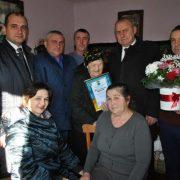 11 правнуків та п'ять праправнуків: прикарпатка відсвяткувала 100-річний ювілей