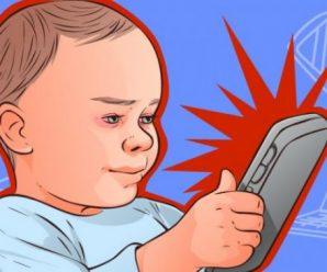 Психологи попереджають: наслідки від смартфонів в руках у дітей набагато гіршi, ніж ви думаєте