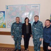 Калущина продовжила шефські зв'язки та співробітництво з військовою частиною в Очакові