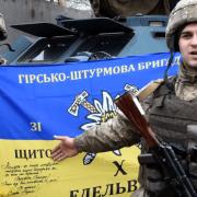 Бійці 10 гірсько-штурмової бригади подякували юнакам Прикарпаття за привітання зі святами