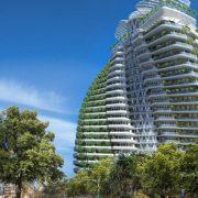 У Франківську біля парку може вирости 17-поверховий діловий центр