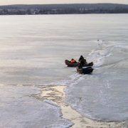 Троє дітей провалилися під лід і потонули на Запоріжжі