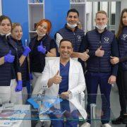 У Франківську стоматолог з Йорданії безкоштовно лікує зуби атовцям