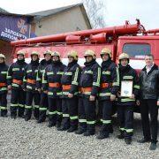 Ще одна добровільна пожежна команда з'явилася на Прикарпатті (ФОТО)