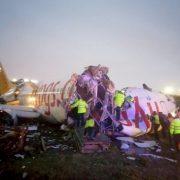 """""""Після посадки розвалився на частини і загорівся"""": Моторошна авіакатастрофа в аеропорту Станбула"""