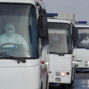 У водія автобуса, який перевозив евакуйованих з Уханя українців, піднялася температура