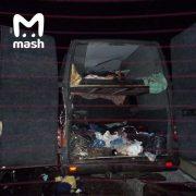 Тіла намагались дістати з розтрощеного автобуса: в смертельній ДТП загинуло 8 українців (ФОТО)