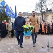 У Франківську вшанували пам'ять Романа Шухевича