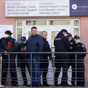 Директора візового центру у Франківську оштрафували. Натовп розійшовся (ФОТО)