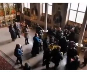 Прямо в будівлі храму: побилися священики в церкві