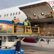 До України прибув літак з медичним обладнанням з Китаю (відео)