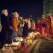 На Великдень прикарпатці зможуть освятити кошики біля свого подвір'я, а великодні паски будуть освячуватись на хлібзаводах