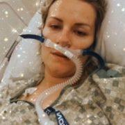 Люди Потрібна Ваша Молитва! Дівчина На 8-му місяці вагітності хвора на COVID-19 бореться за Своє життя