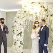 В Україні креативно відсвяткували весілля онлайн під час карантину (відео)