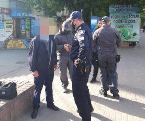 У Франківську п'яні чоловіки після отриманих протоколів накинулись на інспекторів (ФОТО)
