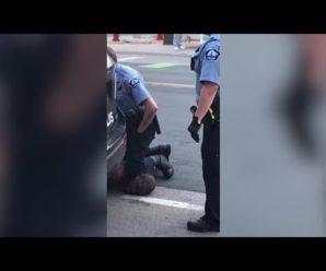 """""""Мамо! Мамо!"""" З'вилось моторошне відео останніх секунд життя чоловіка, якого вбив поліцейський (18+)"""