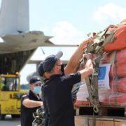 Італія передала на Прикарпаття техніку і рятувальні засоби для ліквідації наслідків повені