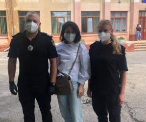 У Франківську поліціянти з сиренами везли документи хлопцю на ЗНО (ФОТОФАКТ)