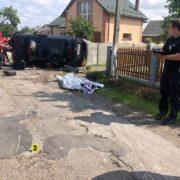 У смертельній ДТП в Угриневі постраждав пасажир – був п'яним. ФОТО