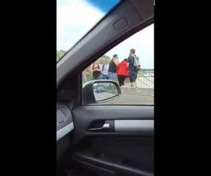 У Франківську жінка намагалася стрибнути з пасічнянського моста (ВІДЕО)