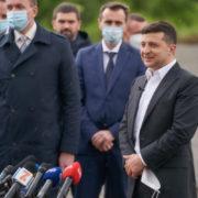 Зеленський зняв міні-фільм про поїздку на Хмельниччину. Відео