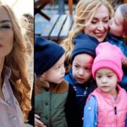 Оксана народила чоловікові п'ятьох, а він її кинув. Як мама і дітки живуть сьогодні