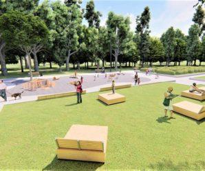 У Франківську в парку Шевченка планують встановити майданчик для найменших діток