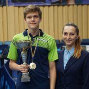 Юний тенісист із Рогатина став абсолютним чемпіоном України (ФОТО)