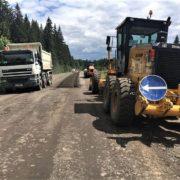 На Франківщині ремонтують дорогу до Говерли