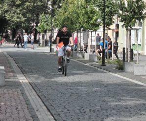 За останні пів року на Прикарпатті збільшилася кількість ДТП з велосипедистами (ВІДЕО)