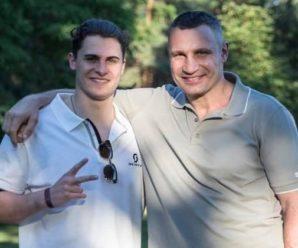 Кличко заявив, що його старший син зібрався на вибори