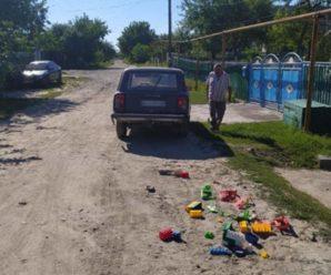 П'яний водій на Житомирщині збив двох 5-річних дітей