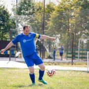 Марцінків став капітаном і зіграв за ветеранів Прикарпаття у святковому футбольному турнірі (ФОТО)