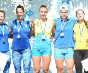 Прикарпатка виборола три медалі на чемпіонаті України з веслування