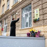У Франківську відкрили пам'ятну дошку медику, який загинув на Сході (ФОТО)