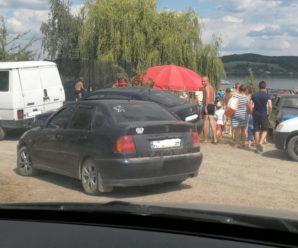 На Бурштинській ТЕС черга до водойми. ФОТО