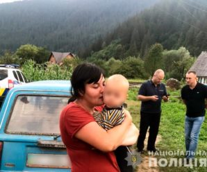 На Буковині 8 годин шукали 1,5-річного малюка, який загубився у лісі