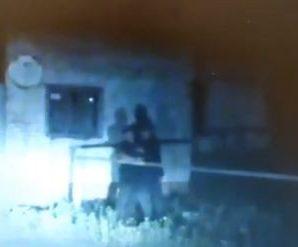 """З'явилося відео ліквідації """"полтавського терориста"""": після пострілу снайпера його розірвало на шматки"""